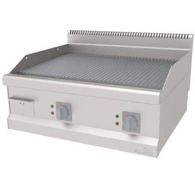 profesionalni električni roštilj sa rebrastom pločom