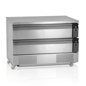 kombinovani hladni sto sa dve temperature