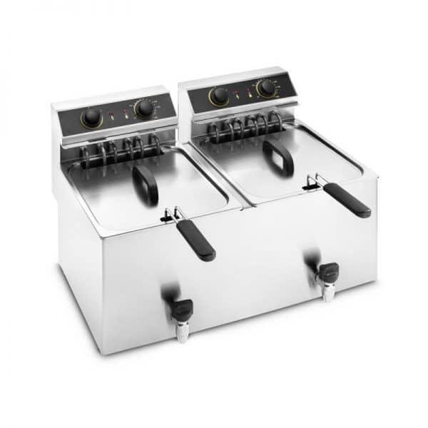 Profesionalna električna friteza dupla