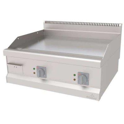 električni roštilj hromirana ravna ploča