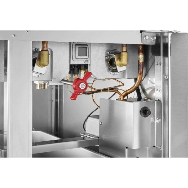 plinska friteza sistem grejanja