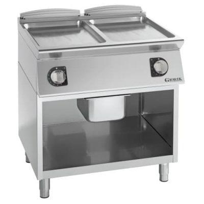 Profesionalni električni roštilj ravna hromirana ploča - serija 900