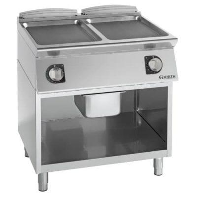 Samostojeći profesionalni dupli električni roštilj ravna čelična ploča - serija 900