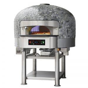 gasna rotirajuća pizza peć