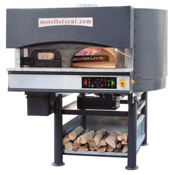 Morello Forni rotirajuća pizza peć na drva i gas MR