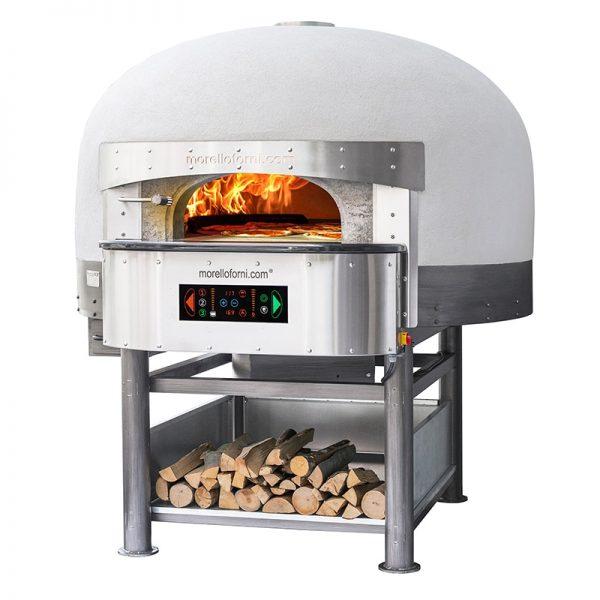 rotirajuća pizza peć na drva i struju