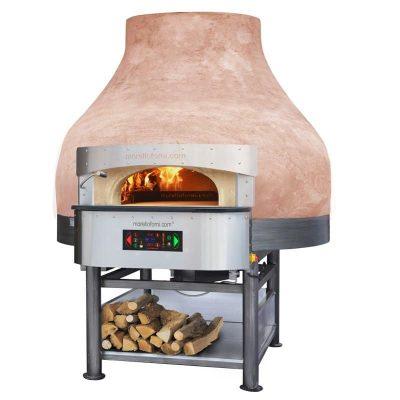 Morello Forni rotirajuća pizza peć na drva i struju