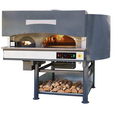 Morello Forni rotirajuća pizza peć na drva i struju MRe