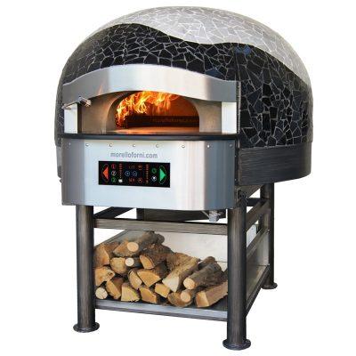 rotirajuća pizza peć na drva
