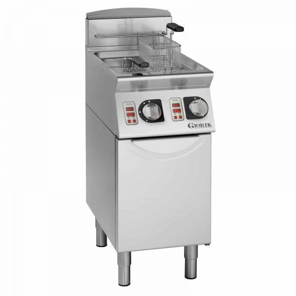 dvodelna gasna friteza melting 8 litara
