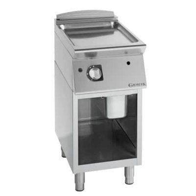 profesionalni plinski roštilj ravna hromirana ploča