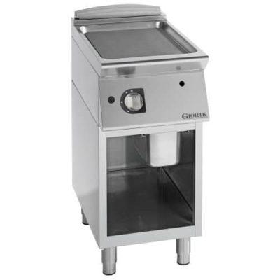 Profesionalni plinski roštilj ravna čelična ploča - serija 900