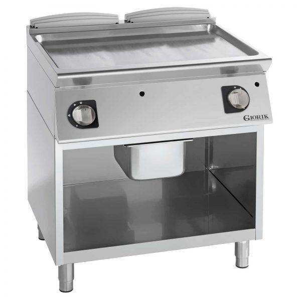 Profesionalni gasni roštilj ravna hromirana ploča - serija 900