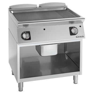 profesionalni dupli plinski roštilj kombinovana ploča