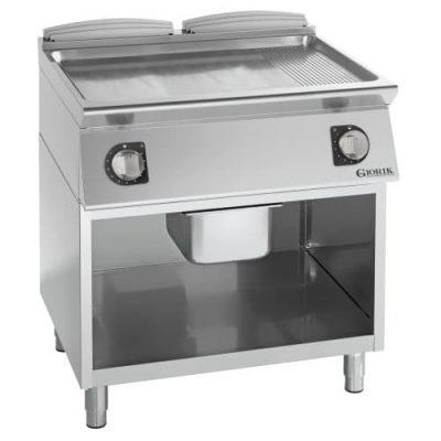 Profesionalni samostojeći električni roštilj kombinovana hrom ploča - serija 900