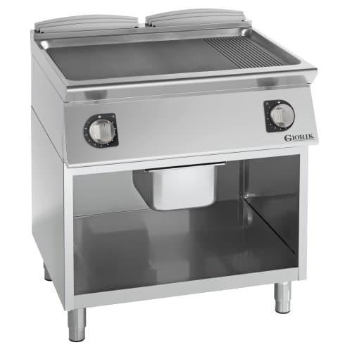 Profesionalni dupli električni roštilj kombinovana čelična ploča - serija 900