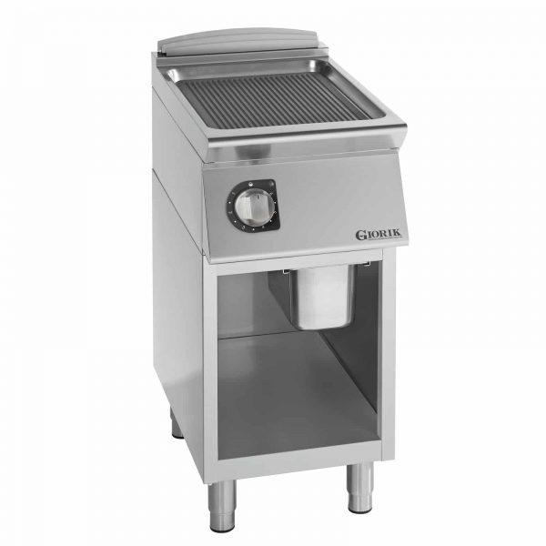 profesionalni električni roštilj rebrasta čelična ploča - serija 900