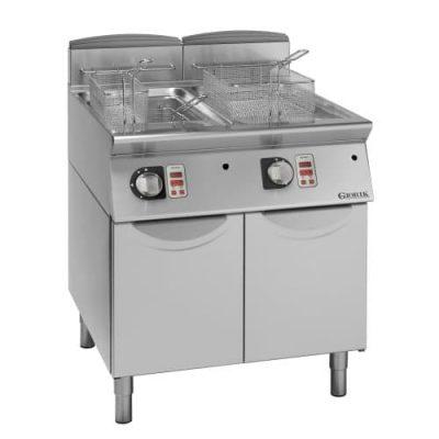 gasna dvodelna friteza melting serija 900