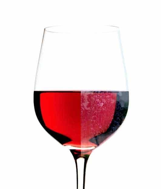 fleke na čašama